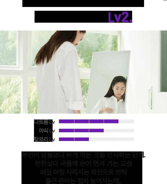 V라인 위험도 LV.2